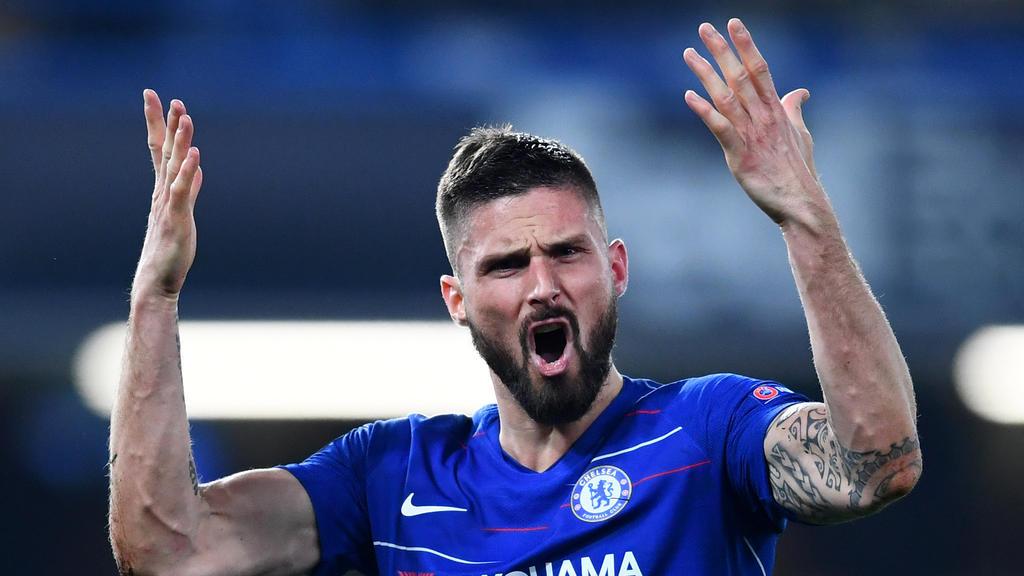 Olivier Giroud bleibt bis Sommer 2020 beim FC Chelsea