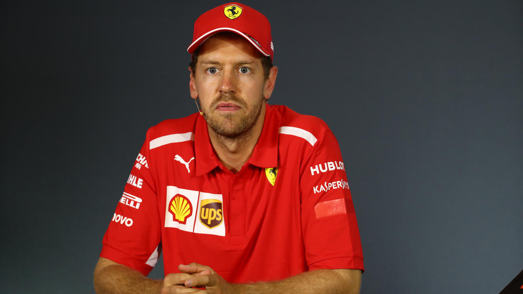Sebastian Vettel war die Enttäuschung anzusehen