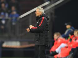 Lucien Favre, el entrenador del Niza. (Foto: Getty)