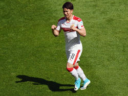 Die Stuttgarter können weiter auf Takuma Asano zählen