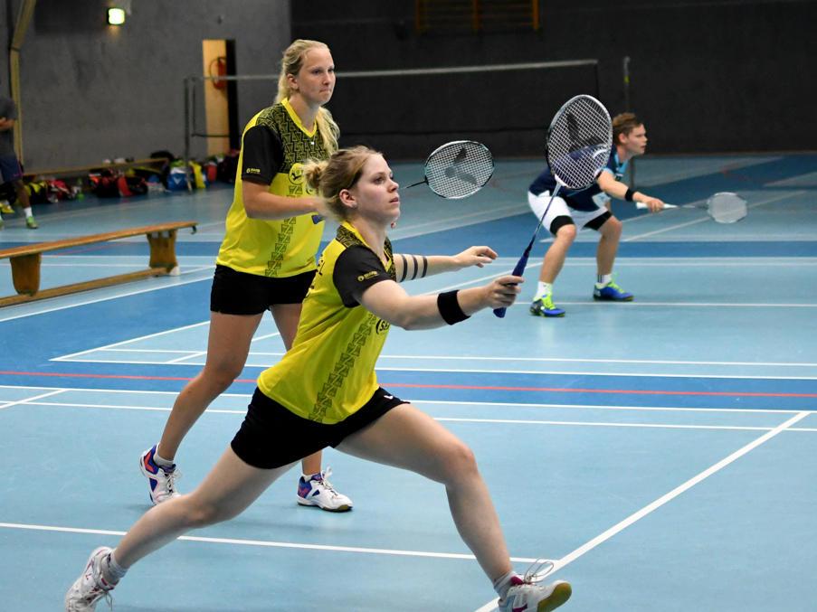 Hannah Pohl (l.) und Lisa Kaminski (r.) trainieren hart für die WM