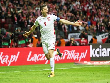 Robert Lewandowski es la estrella absoluta de la selección polaca. (Foto: Getty)