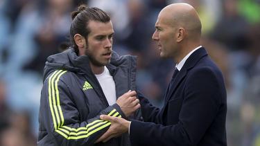 Gehen bald wohl getrennte Wege: Gareth Bale und Zinédine Zidane
