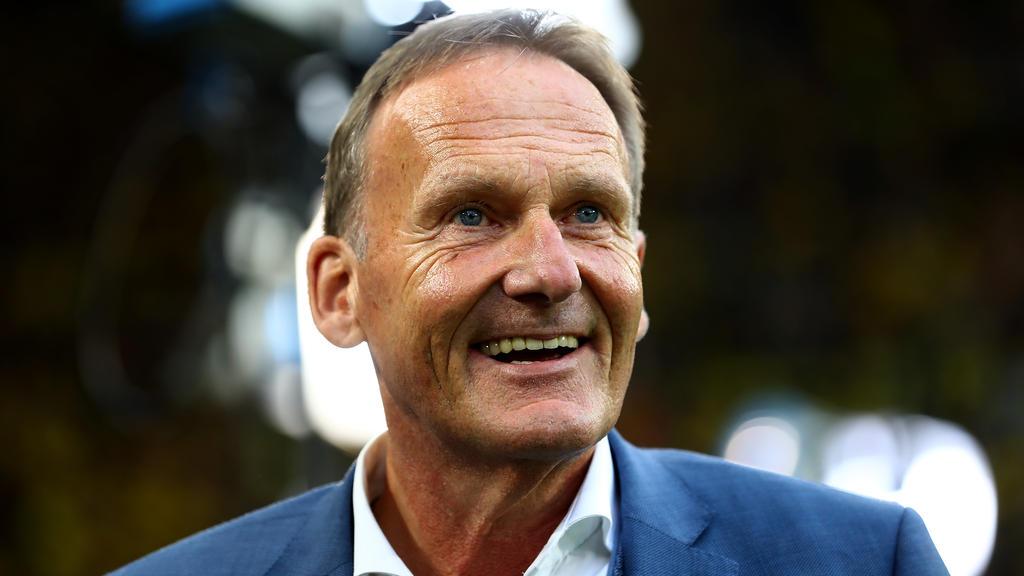 Hans-Joachim Watzke sieht den BVB gut aufgestellt