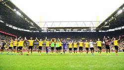 Schwarz-Gelb feiert die erste Tabellenführung der Saison