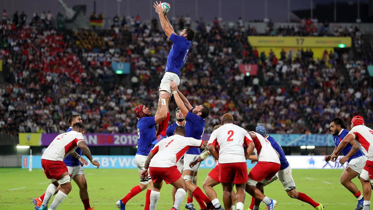 Frankreich siegte gegen Tonga