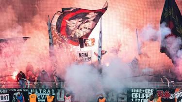 Eintracht Frankfurt muss in zwei Spielen ohne seine Fans auskommen