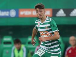 Dalibor Velimirović bekennt sich zu Rapid
