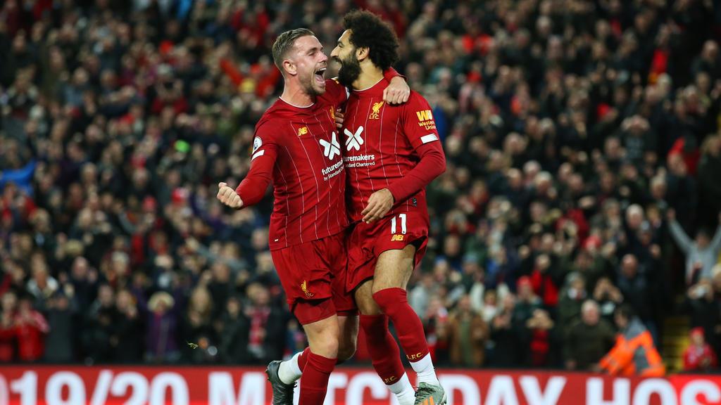 Mohamed Salah hizo el tanto final de penalti.