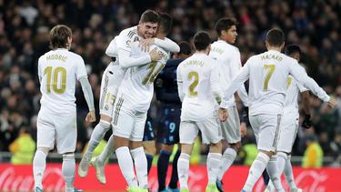 Real Madrid hat einen weiteren Sieg gefeiert