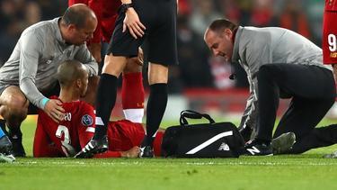 Fabinho verletzte sich in der Champions League gegen den SSC Neapel