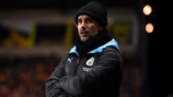 Pep Guardiola ist Teammanager bei Manchester City
