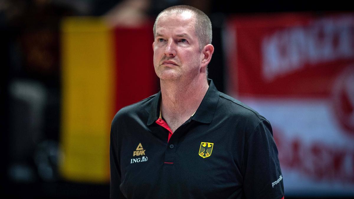 Bundestrainer Henrik Rödl fordert einen Sieg von seiner Mannschaft