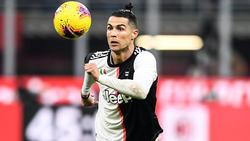 Cristiano Ronaldo traf zum zwischenzeitlichen 1:0 für Juventus