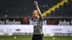 Eintracht Frankfurts Sebastian Rode macht sich vor dem Auswärtsspiel beim FC Bayern Sorgen