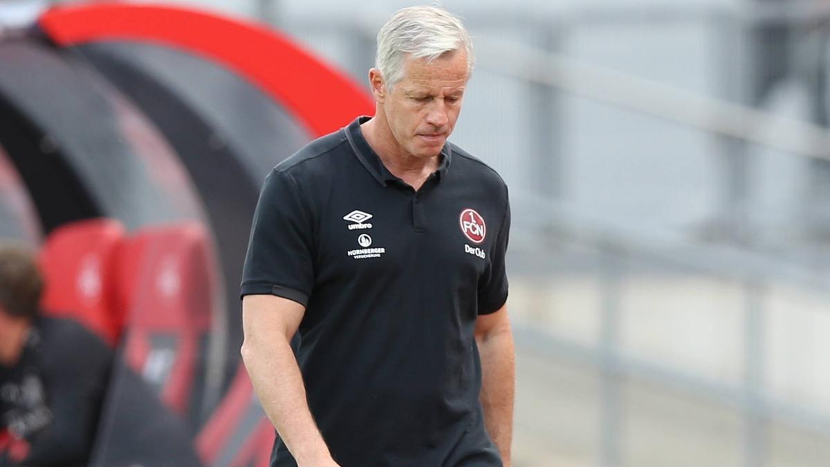 Jens Keller steht beim FC Nürnberg wohl vor dem Aus