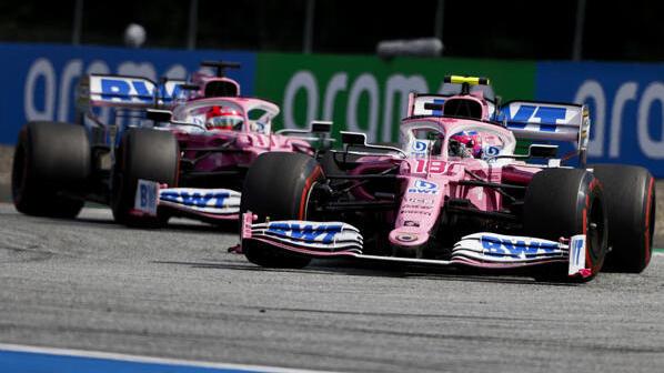 """Der Racing Point RP20 trägt den Spitznamen """"rosaroter Mercedes"""""""