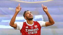 Soll beim FC Arsenal seinen Vertrag verlängern:Pierre-Emerick Aubameyang