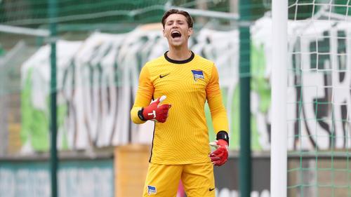 Soll beim HSV auf dem Zettel stehen: Nils Körber von Hertha BSC