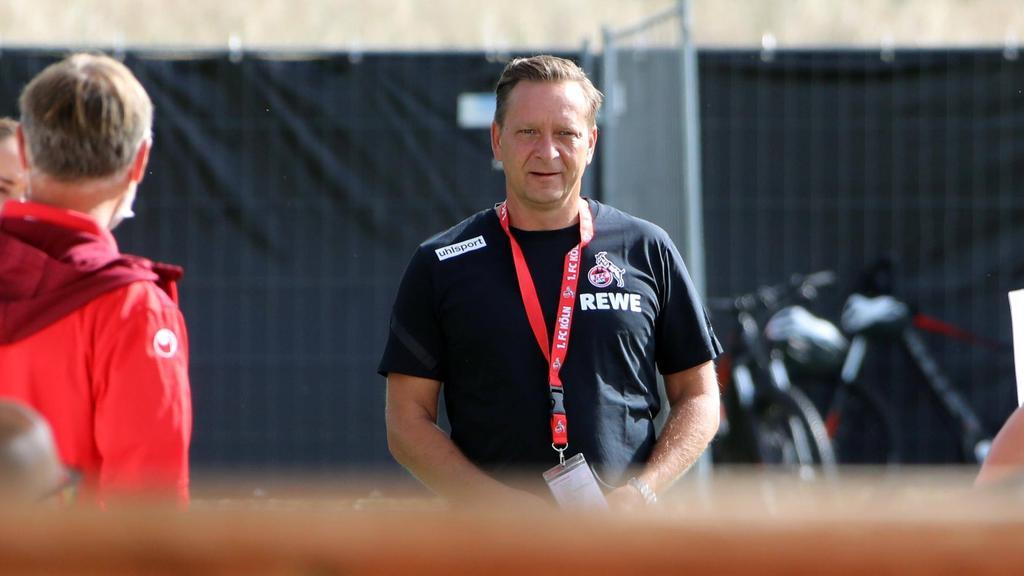 Köln-Sportchef Horst Heldt regte sich über die Torwart-Kritik auf