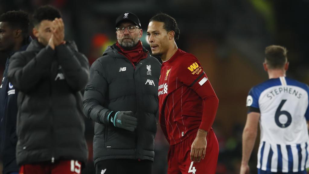 Virgil van Dijk fehlt dem FC Liverpool monatelang