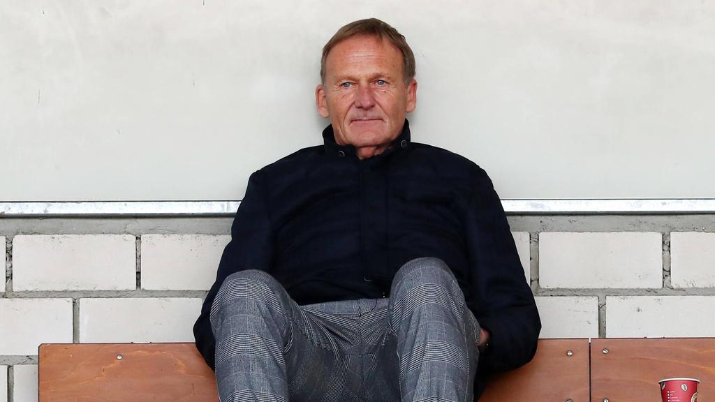 BVB-Boss Hans-Joachim Watzke warnte vor einem erneuten Lockdown