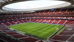 Vista general del Wanda Metropolitano de Madrid.