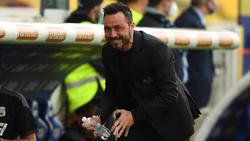 Roberto De Zerbi verlässt Sassuolo