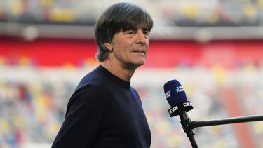 Bundestrainer Joachim Löw im Interview