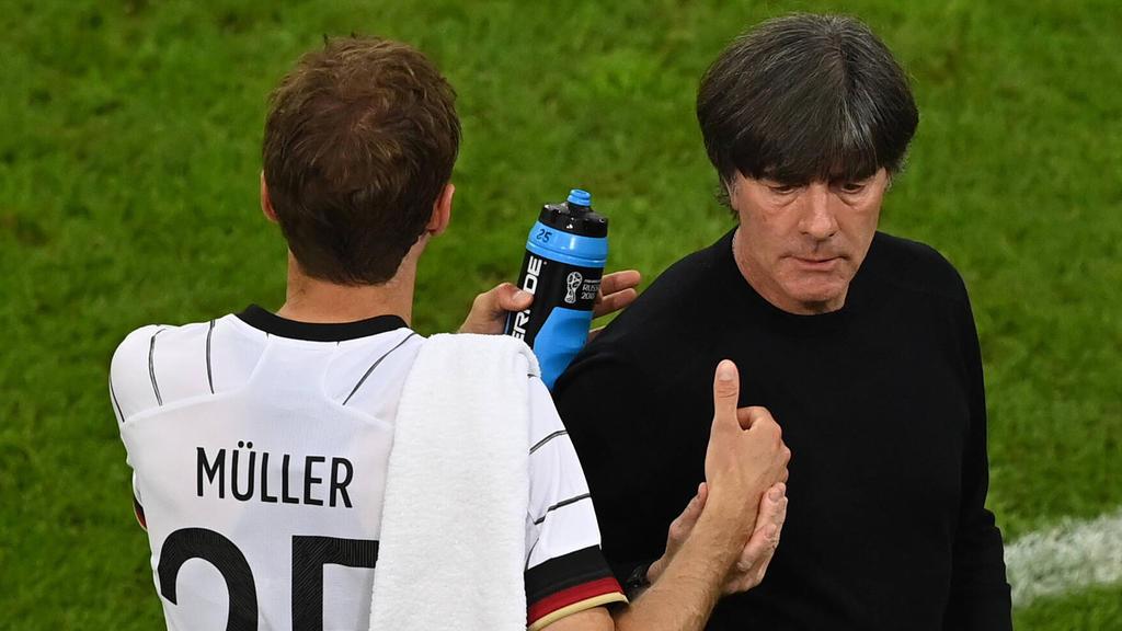 Kann Bundestrainer Joachim Löw gegen Ungarn doch auf Thomas Müller bauen?