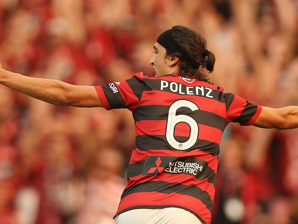 Jérôme Polenz traf am 2. Spieltag der A-League 2013/2014