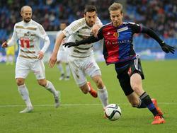 Basel-Stürmer Marc Janko hatte einige Veränderungen in seiner Kollegenschaft