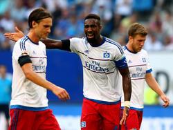 Albin Ekdal (izq.) en un encuentro de esta temporada con el Hamburgo. (Foto: Getty)