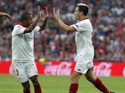 Nasri feiert sein Tordebüt für Sevilla