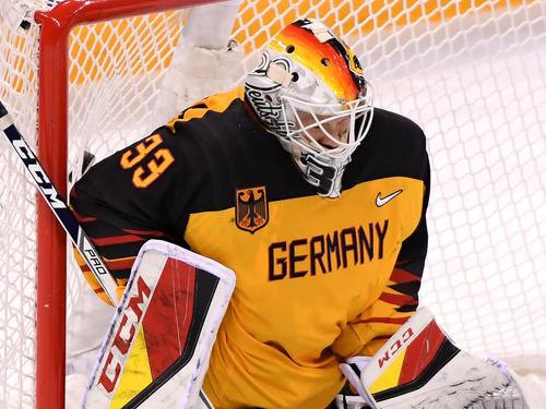 Danny aus den Birken ist der Torwart der deutschen Eishockey-Nationalmannschaft