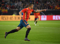Spaniens Torschütze Rodrigo