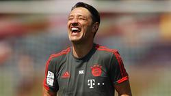 Niko Kovac, Trainer des FC Bayern München, steht vor seinem Pflichtspieldebüt