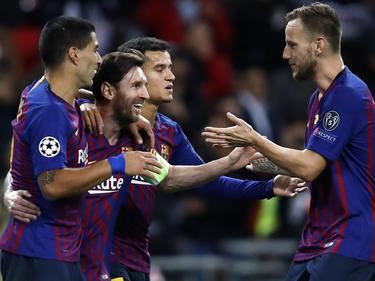 Messi schlug gegen die Spurs zwei Mal zu