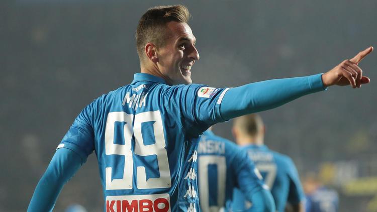 Milik marcó el único gol de la contienda. (Foto: Getty)