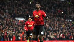 Paul Pogba blüht bei Manchester United auf