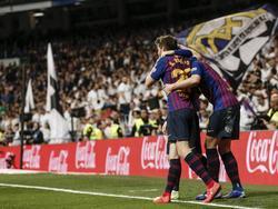 El FC Barcelona ha convertido el Bernabéu en su casa. (Foto: Getty)