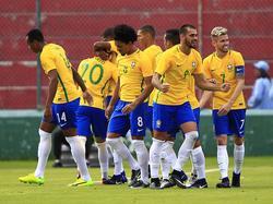 Los brasileños se impusieron 3-2 a Paraguay. (Foto: Imago)