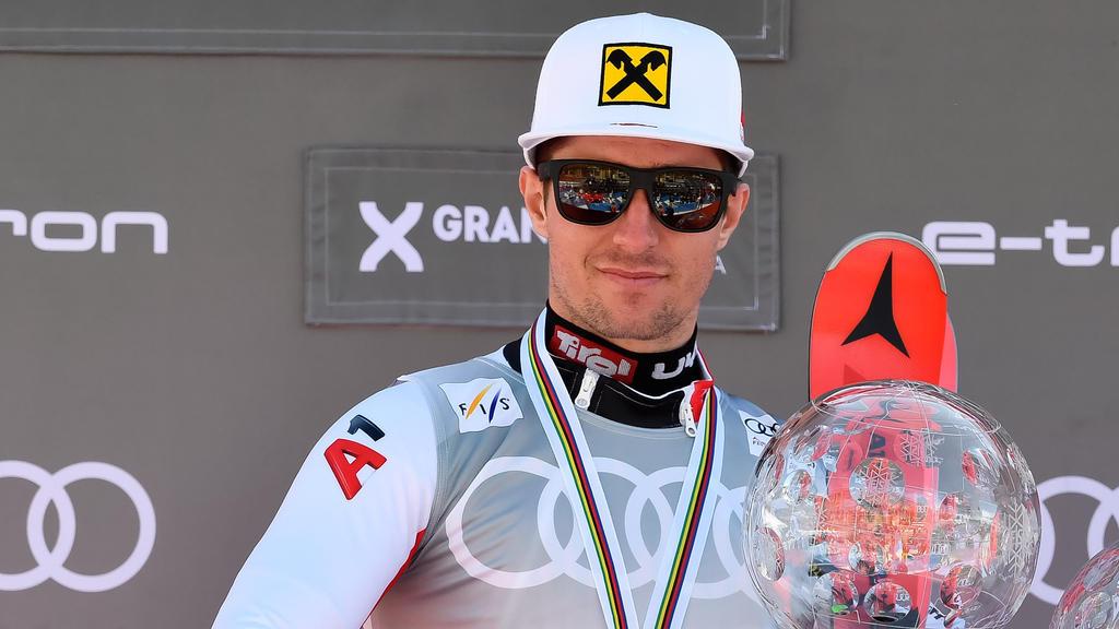 Skistar Marcel Hirscher durfte mit den MotoGP-Profis testen