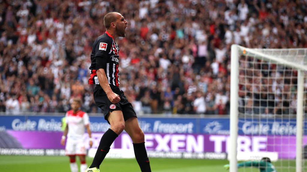 Eintracht Frankfurt besiegt Fortuna Düsseldorf