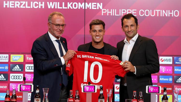 Coutinho wurde beim FC Bayern offiziell vorgestellt