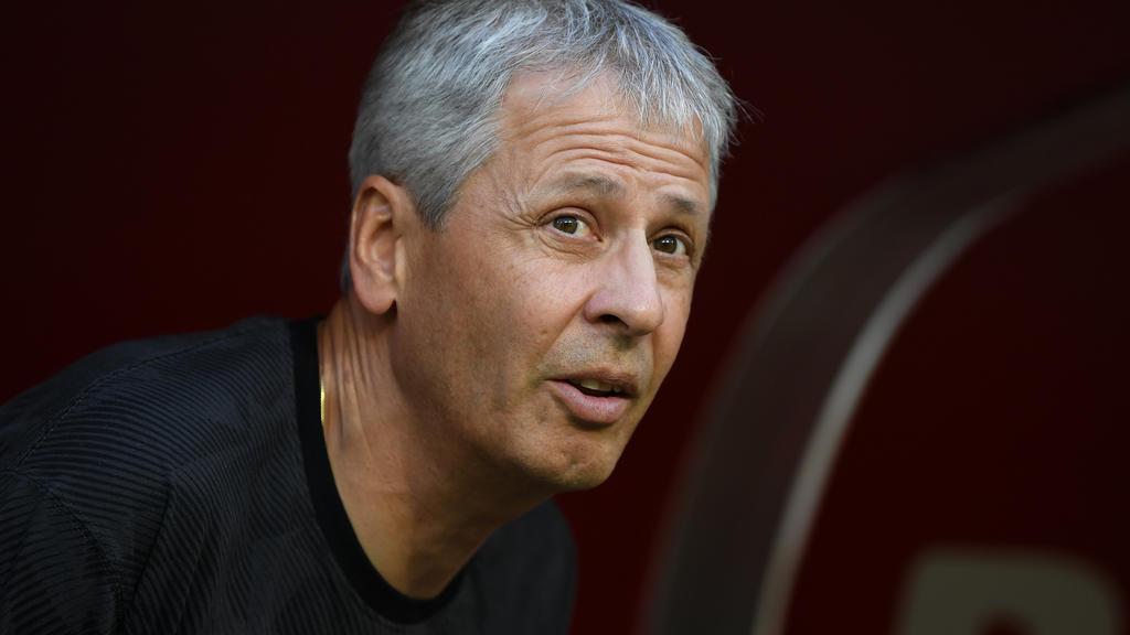 BVB-Trainer Lucien Favre braucht dringend Siege