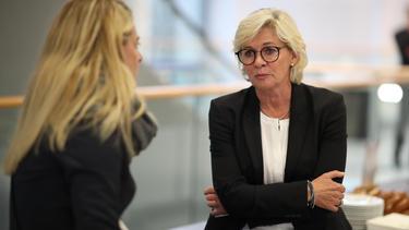 Silvia Neid auf dem DFB-Bundestag 2019