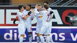 El Leipzig ha vencido a domicilio y sigue fuerte.