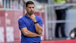 Dimitrios Grammozis musste mit dem FC Schalke 04 eine herbe Niederlage einstecken