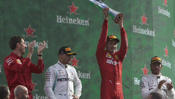Leclerc blickt mit Gänsehaut auf seinen Monza-Sieg 2019